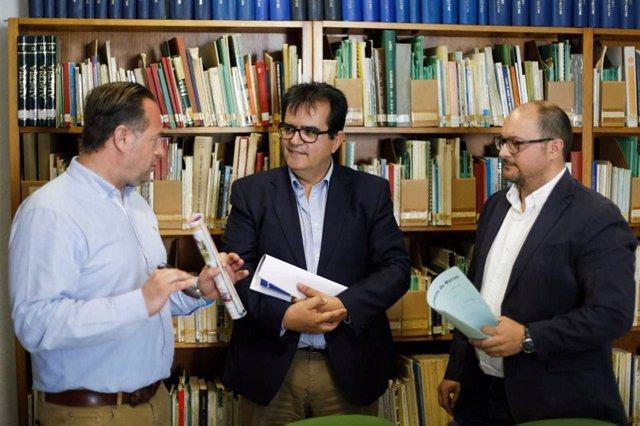 SaboresAlmería.-La biblioteca de Diputación celebra el Día del Libro con una selección de obras sobre gastronomía