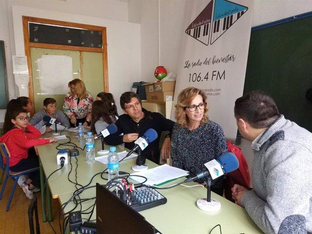 Córdoba.- Educación.- La Junta participa en el programa de radio del CEIP José de la Torre y el Cerro