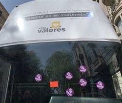 La CUP atura l'autobús d'Hazte Oír a Barcelona i els Mossos identifiquen un dels seus candidats (EUROPA PRESS)