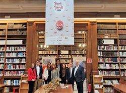 L'Icab acull una fira amb llibres i roses per als seus col·legiats i associats (EUROPA PRESS)