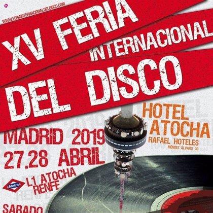 La XV Feria Internacional del Disco de Madrid, cita para coleccionistas y melómanos