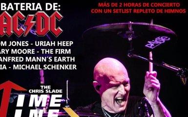Chris Slade, bateria d'AC/DC, tocarà amb la seva pròpia banda a Barcelona, Múrcia, Madrid i Vitòria (METALTRIP)