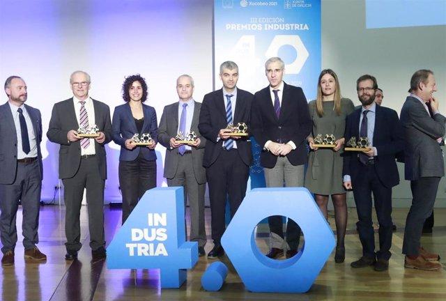 Industria 4.0.- Digitalización de la automoción y la alimentación del futuro, entre los proyectos premiados por la Xunta
