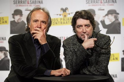 Joan Manuel Serrat y Joaquín Sabina preparan una nueva gira conjunta (y se dan un piquito para celebrarlo)