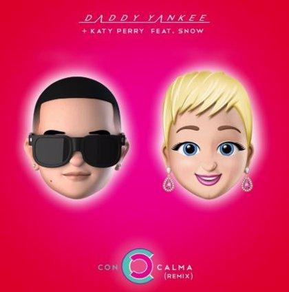 Katy Perry y Daddy Yankee se unen en la nueva versión de 'Con calma'