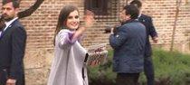 Doña Letizia desborda estilo en la entrega del Premio Cervantes