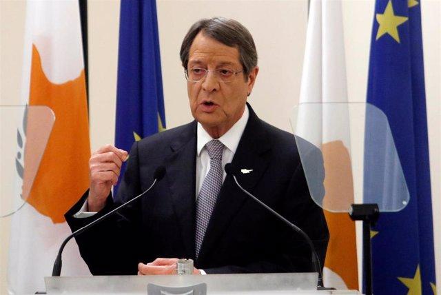 Nicos Anastasiades, presidente de Chipre