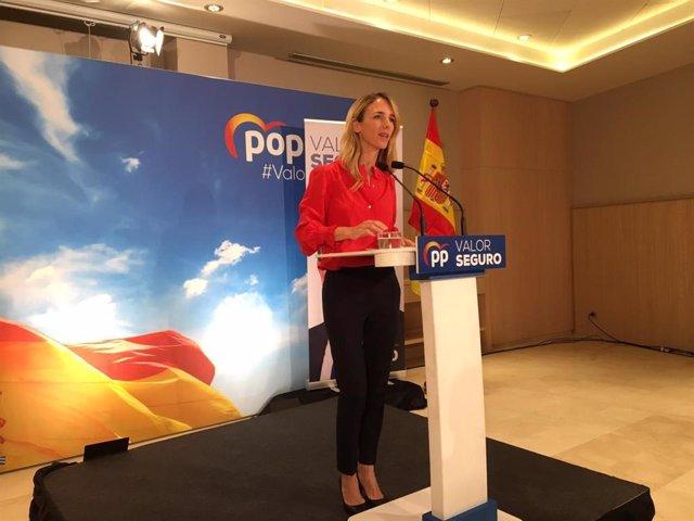 """28A.- Álvarez De Toledo (PP), A Girona: Aquí És On La Democràcia Està """"Més Greument Soscavada"""""""