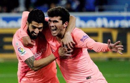 Crónica del Deportivo Alavés - FC Barcelona, 0-2