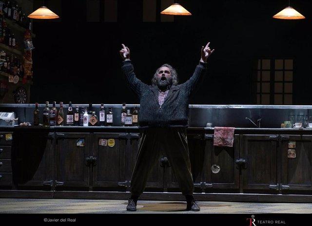 'Falstaff' Despierta La Compasión Y La Risa Del Teatro Real En Un Estreno Recibido Con Entusiasmo