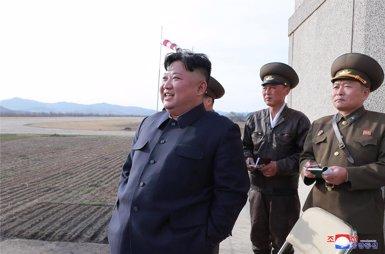 Kim Jong-un travessa la frontera i va a Rússia per reunir-se amb Putin (-/KCNA/dpa)