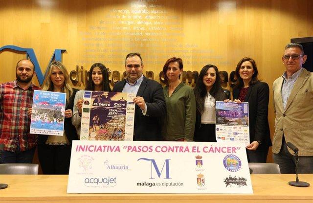 Málaga.- La Diputación y la Asociación Un sí por la vida fomentan hábitos de vida saludable en pequeños municipios