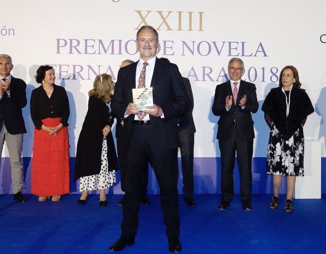 El ganador del Premio Fernando Lara, Jorge Molist