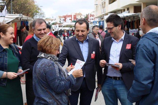 """Málaga.-28A.-PSOE insiste en que """"solo Sánchez es capaz de parar un gobierno de las derechas apoyado en la ultraderecha"""""""