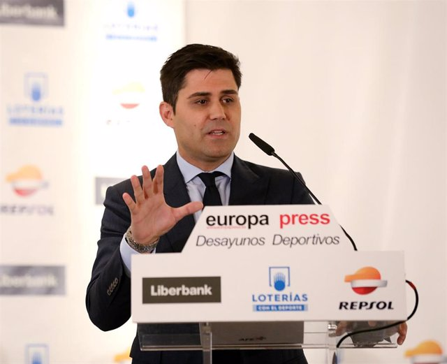 Desayuno Deportivo de Europa Press con David Aganzo, presidente de la Asociación de Futbolistas Españoles