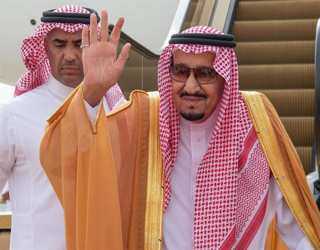 Saudi King Salman in Bahrain