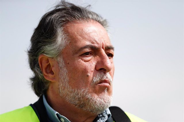 El candidato del PSOE al Ayuntamiento de Madrid, Pepu Hernández, visita el Parque Tecnológico de Valdemingómez