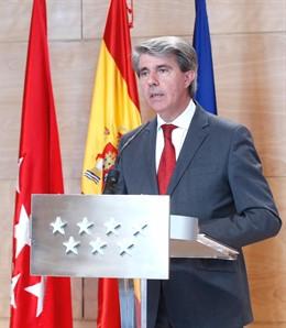 """Garrido se despide """"emocionado"""" de la Puerta del Sol con una batería de medidas"""