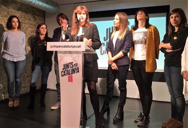 """28A.- Jxcat Acusa Al Estado De Ser """"Un Muro"""" Para Avanzar En Políticas De Género"""