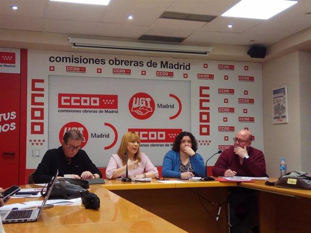 28M.- Sindicatos Critican Que No Hablaran De Paro O Dependencia En Los Debates Pero Llaman A Votar Para Frenar A Vox