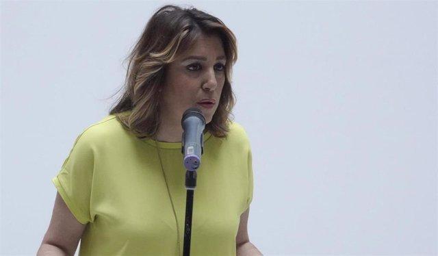 """Susana Díaz insta a Moreno a que se """"vaya a los juzgados"""" si está cuestionando la """"honorabilidad"""" del anterior Gobierno"""