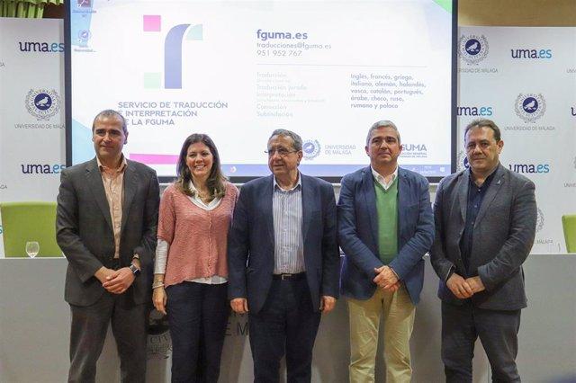 Málaga.- La UMA activa un nuevo servicio de Traducción e Interpretación a disposición de la comunidad universitaria