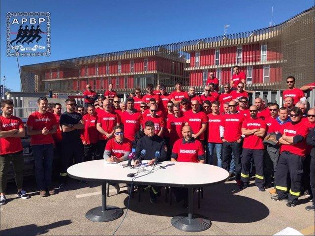 """L'Agrupació Professional de Bombers de Palma exigeix mesures davant la """"situació catastròfica"""" amb la qual treballen"""
