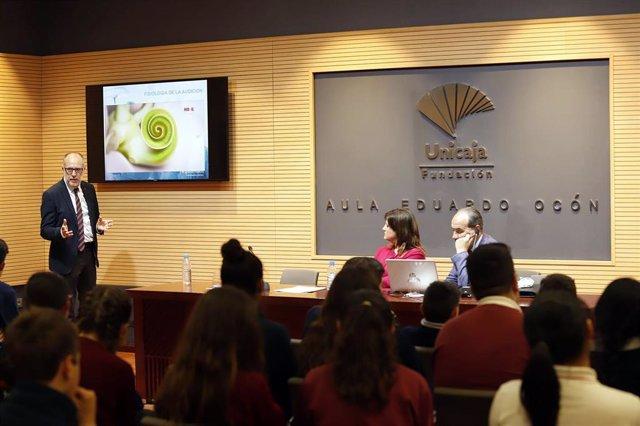 Málaga.- Unicaja.- Fundación Unicaja celebra el Día Internacional de la Concienciación contra el Ruido con una charla