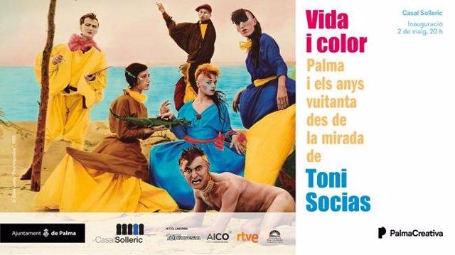 El Casal Solleric inaugura el próximo jueves 2 de mayo una exposición sobre los años 80 en Palma
