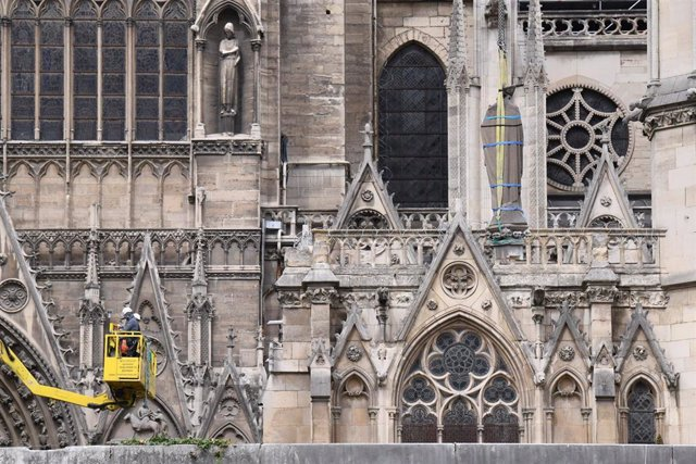 Reconstruction of Notre Dame Cathedral in Paris