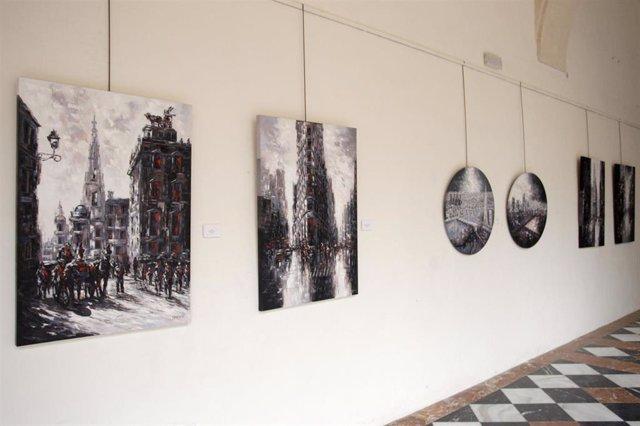 CórdobaÚnica.- José Domínguez expone su 'Proceso evolutivo' en el Palacio de la Merced