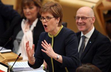 Sturgeon proposa un referèndum a Escòcia abans de les eleccions del 2021 (Jane Barlow/PA Wire/dpa - Archivo)