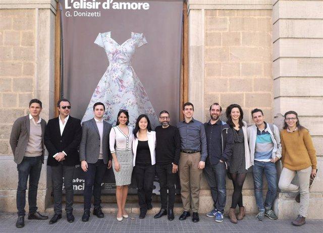 La ópera 'L'elisir d'amore' se estrena este domingo en el Teatre Principal de Palma