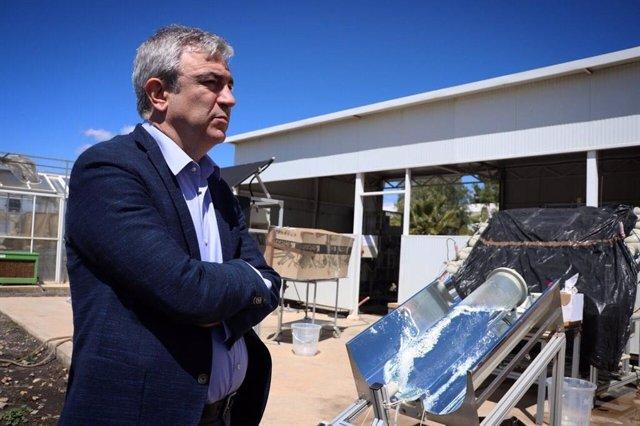 """Almería.-28A.-Garicano: """"Cs ha demostrado su compromiso con la innovación y con la lucha contra el cambio climático"""""""