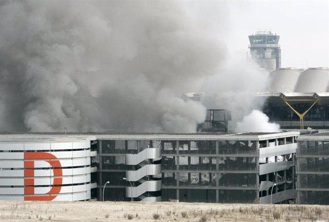 Atentado de ETA en la terminal t4 de Barajas el 30 de diciembre de 2006