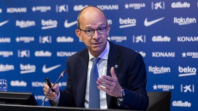 El vicepresidente del FC Barcelona Jordi Cardoner