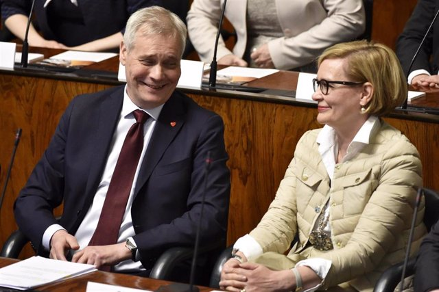 First day of the new parliament in Finland