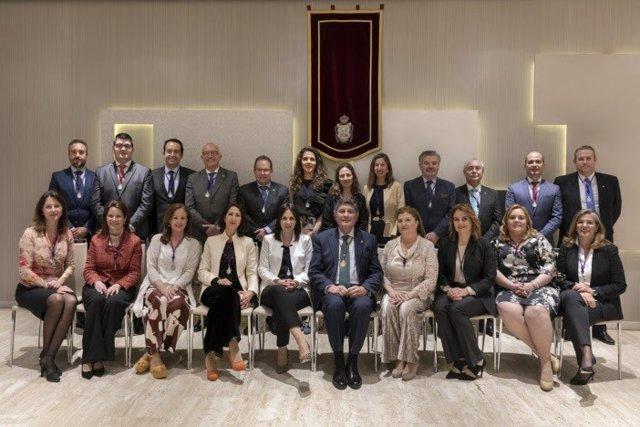 Sevilla.-Toma posesión la nueva junta de gobierno del Colegio de Farmacéuticos, con Manuel Pérez Fernández al frente
