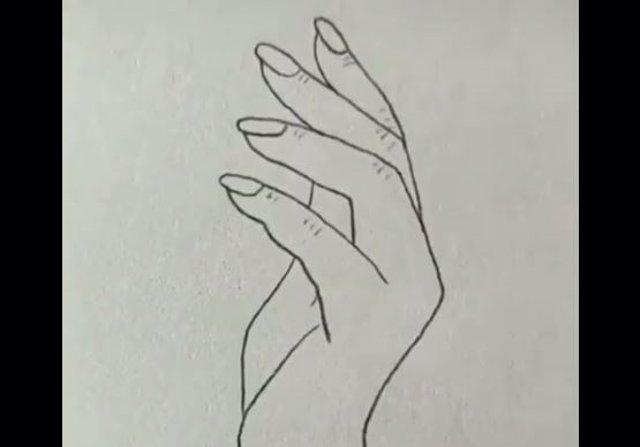 El Sencillo Dibujo De Una Mano Que No Todos Son Capaces De Hacer