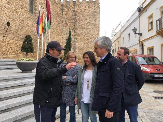 """Cádiz.-28A.- Suárez defiende el """"compromiso del PP con España"""" y lamenta que """"esté en peligro la concordia social"""""""