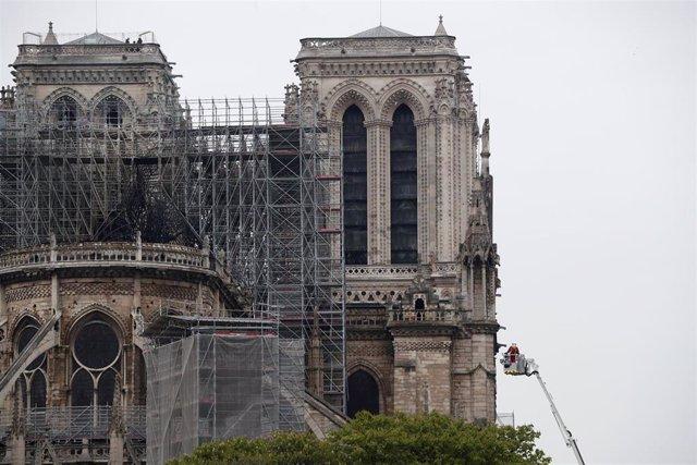 Francia.- Las autorides prohíben a los 'chalecos amarillos' manifestarse este sábado cerca de Notre Dame