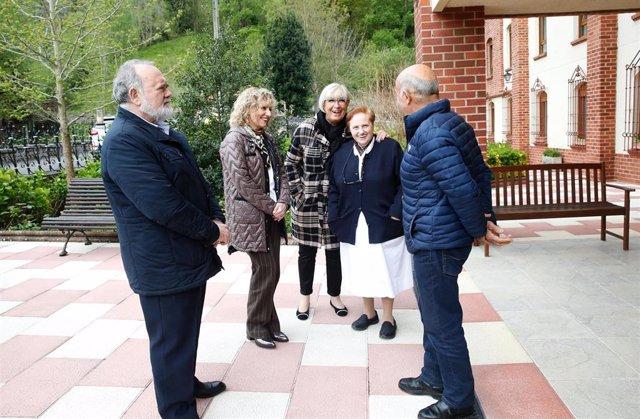 Cabuérniga.- La residencia Santa Ana de Terán amplía sus instalaciones gracias a la donación de un particular