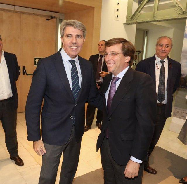 José Luis Martínez Almeida y Ángel Garrido
