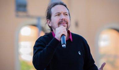 """Iglesias demana el vot dels que van optar pel PSC, la CUP i ERC en altres eleccions, per """"garantir el diàleg"""" (David Zorrakino - Europa Press)"""