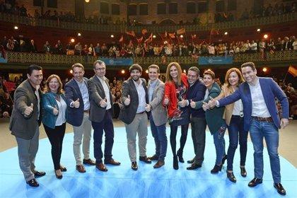 Pablo Casado clausura este jueves en Murcia un mitin
