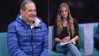 La periodista argentina Carolina Servetto es acosada por el senador José Alperovich en pleno directo