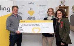 Vueling col·labora amb el Banc dels Aliments amb uns 12.000 euros (EUROPA PRESS)