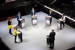 ERC, PP, Cs, JxCAT i comuns centren les seves crítiques sobre el PSC en el debat de TV3 (David Zorrakino - Europa Press)