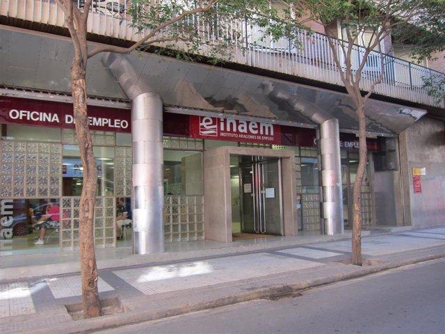 Instituto Aragonés de Empleo. INAEM. Paro.