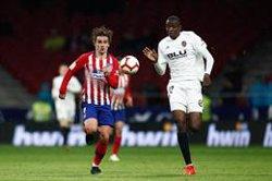 L'Atlètic de Madrid guanya el València (3-2) amb gols de Morata, Griezmann i Correa (Oscar J. Barroso / AFP7 / Europapress)